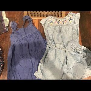 2 jean dresses